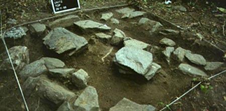 Khu đất mà các nhà khoa học khai quật được xác ướp kì lạ trên.