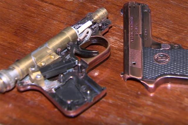 Cấu tạo của súng khá đơn giản