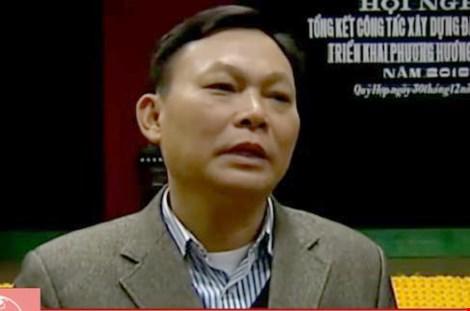 Ông Trương Văn An - Bí thư Đảng ủy xã Hạ Sơn.
