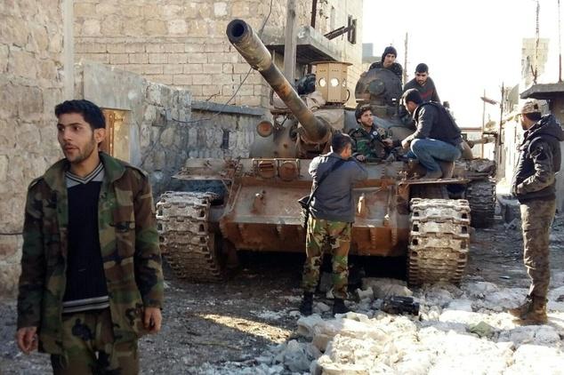 Lực lượng quân đội Syria đã phá được vòng vây các ngôi làng Nubol và Zahraa trên đường tiến quân tại phía bắc Aleppo.