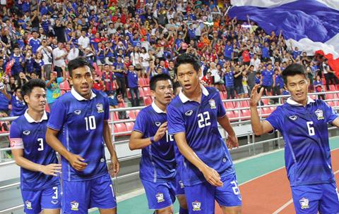 ĐT Thái Lan vẫn đang tràn trề cơ hội giành suất dự vòng loại cuối cùng World Cup 2018 - khu vực châu Á.