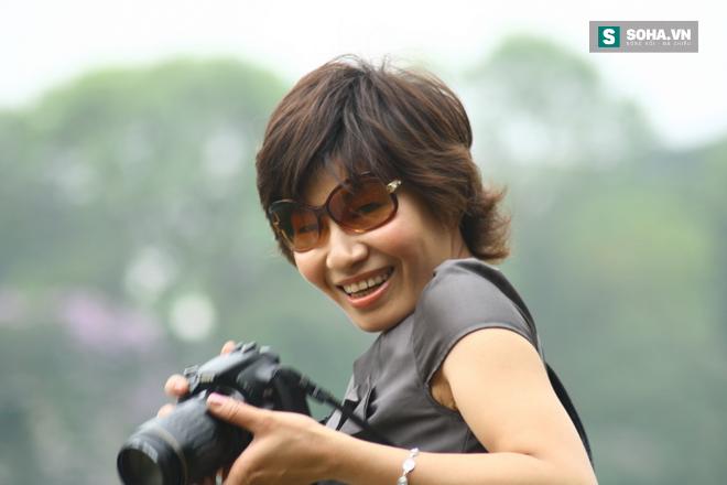 Nhà báo Thu Trang luôn cháy hết mình với nghề (Ảnh nhân vật cung cấp)
