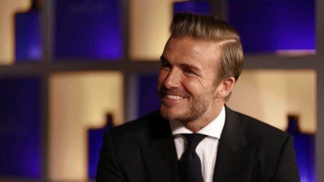 David Beckham cũng gây bất ngờ khi tiết lộ thức ăn với anh là thứ xa xỉ.