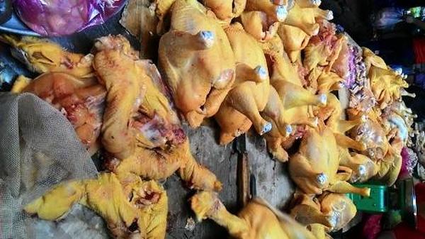 Ăn gà chứa chất vàng ô có thể gây ung thư