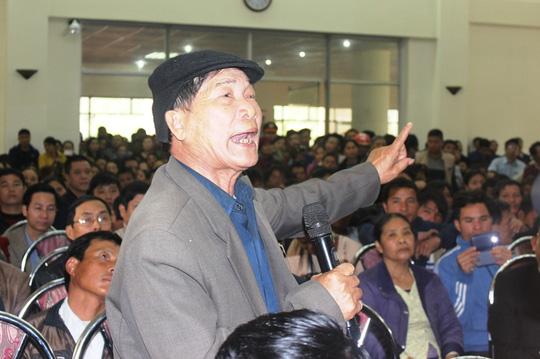 Ông Nguyễn Hữu Tỵ: Lãnh đạo đã không cho dân biết, không lắng nghe tâm tư của dân