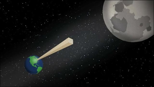 Gấp đôi một tờ giấy 42 lần liên tiếp, độ dày của nó đã vươn tới Mặt Trăng