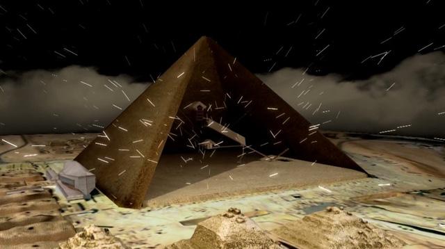 Hạt Muyon sẽ bị chặn bởi các khối đá kim tự tháp