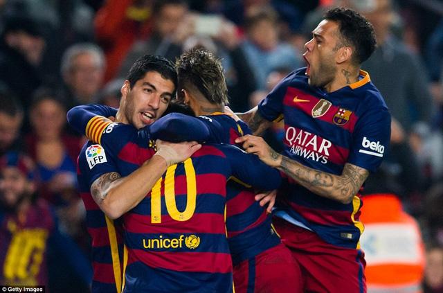Barcelona chính thức giành vé vào bán kết Cúp Nhà vua TBN