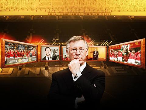 Alex Ferguson đã làm nên một sự nghiệp vĩ đại cùng Man United.