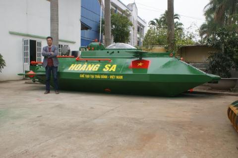 Tàu ngầm Hoàng Sa lại không được thử nghiệm trên biển - Ảnh 2.