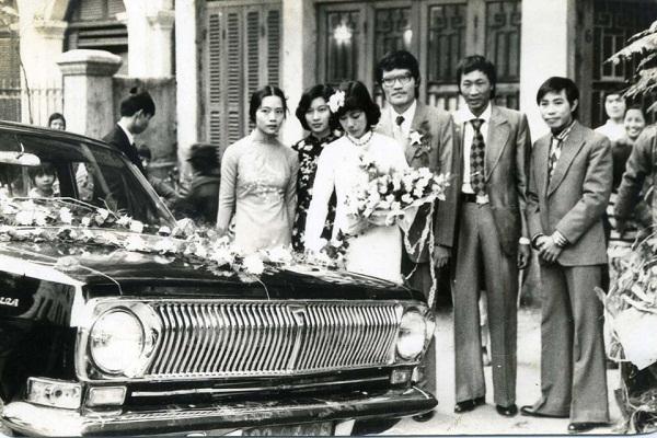 1 trong những lễ cưới cực sang trọng ngày xưa.