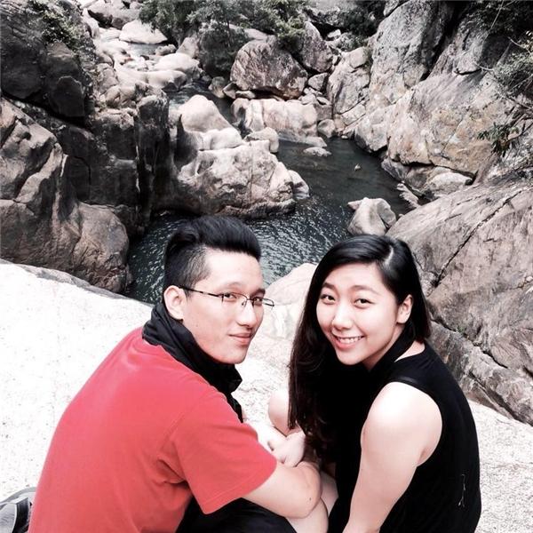 Huỳnh Mi và bạn trai thường đi dành thời gian rảnh cho các chuyến du lịch nước ngoài.