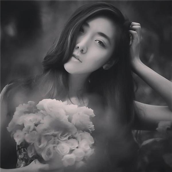 Vẻ đẹp xinh xắn của Huỳnh Mi.