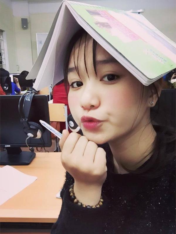 Cô bạn dễ thương có tên Lưu Khánh Ly này...