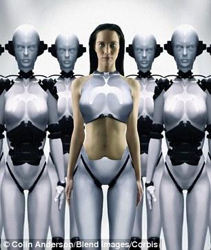 Những thế hệ người máy nhân tính sẽ thay thế cơ thể sinh học của chúng ta.