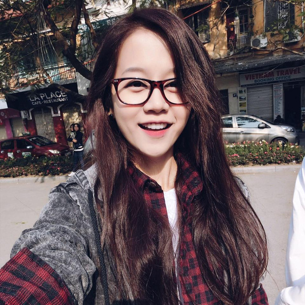 Những hình ảnh xinh xắn của An Nguy trên Fanpage hơn 2 triệu like của mình.
