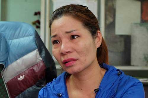 Chị Tạ Thị Thu Trang, người con gái bị trao nhầm cho bà Nguyễn Mai Hạnh (65 tuổi, ở phố Quán Thánh, quận Ba Đình, Hà Nội) cách đây 42 năm ở nhà hộ sinh quận Ba Đình