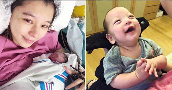 Ngày 13/8, nữ diễn viên 40 tuổi Từ Nhược Tuyên sinh con trai đầu lòng. Quá trình mang thai của cô vô cùng vất vả, người đẹp phải nằm giường bệnh 142 ngày và chịu đựng cơn đau dạ dày