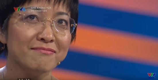 MC Thảo Vân xúc động khi nói về chuyện gia đình