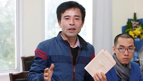 Cựu binh Gạc Ma Lê Hữu hảo.