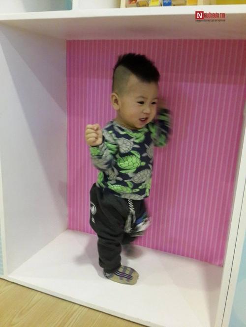 Con trai của chị Trang.