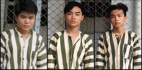 Các đồng phạm cùng gây án với Nam mini
