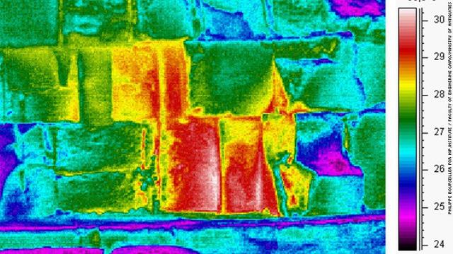 Một dấu hiệu bất thường về nhiệt trong kim tự tháp Khufu