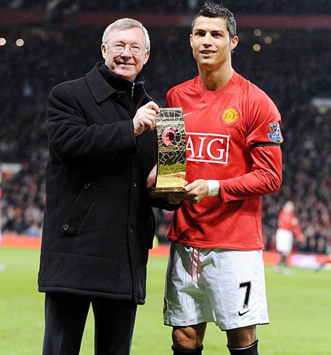 Cristiano Ronaldo là một trong những học trò thành công nhất của Ferguson.