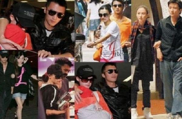 Trương Bá Chi và Tạ Đình Phong khi còn hạnh phúc.