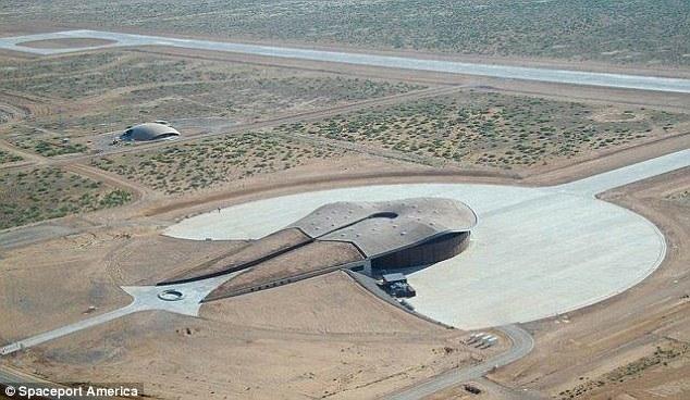 Cảng Vũ trụ Mỹ ở bang New Mexico