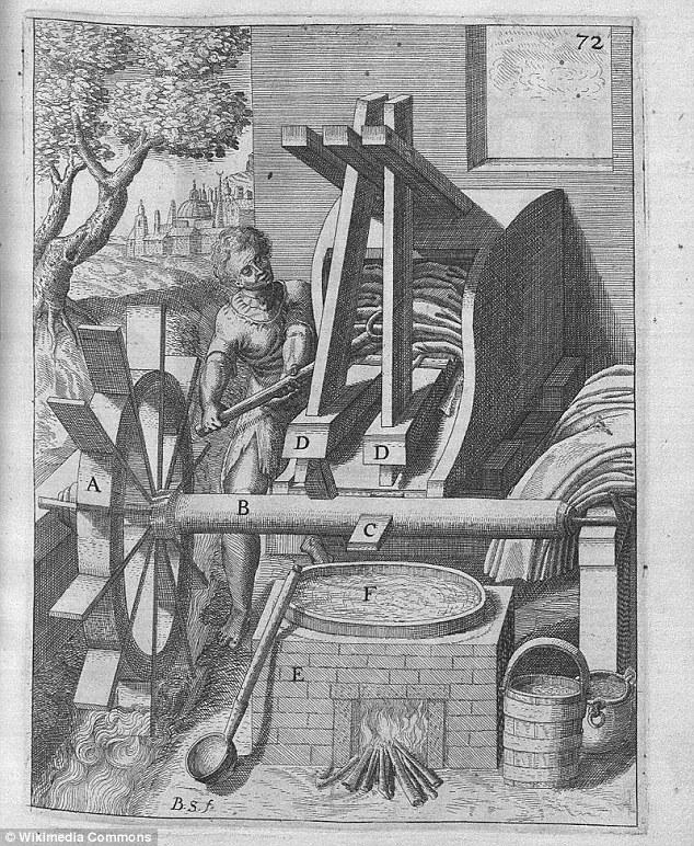 Máy giặt ra đời từ thế kỷ 1
