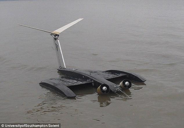 Máy bay đữ được thử nghiệm trên mặt đất và mặt nước