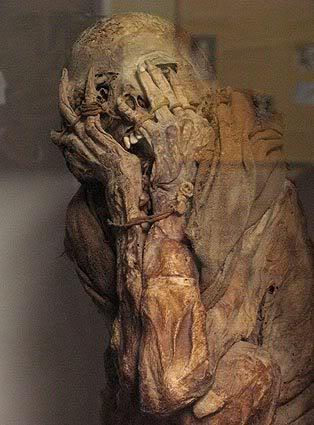Xác ướp đầu tiên được tìm thấy ở châu Phi.