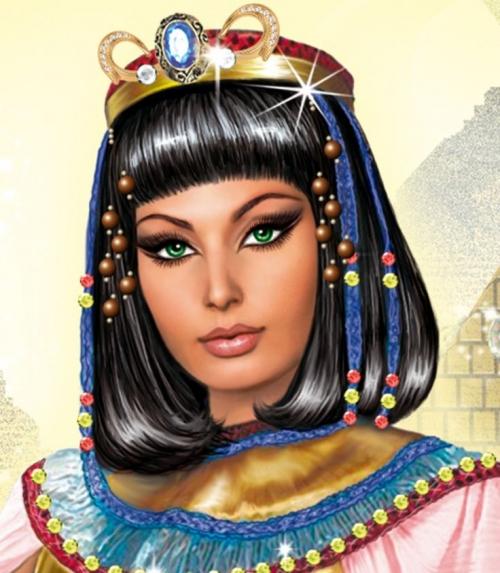 Hình ảnh Nữ hoàng Cleopatra luôn sắc sảo trong tiềm thức của mọi người.