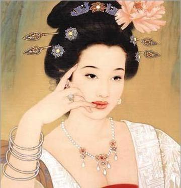 Vóc dáng đầy đặn, nở nang chính là thước đo vẻ đẹp của phụ nữ thời nhà Đường. (Ảnh minh họa).