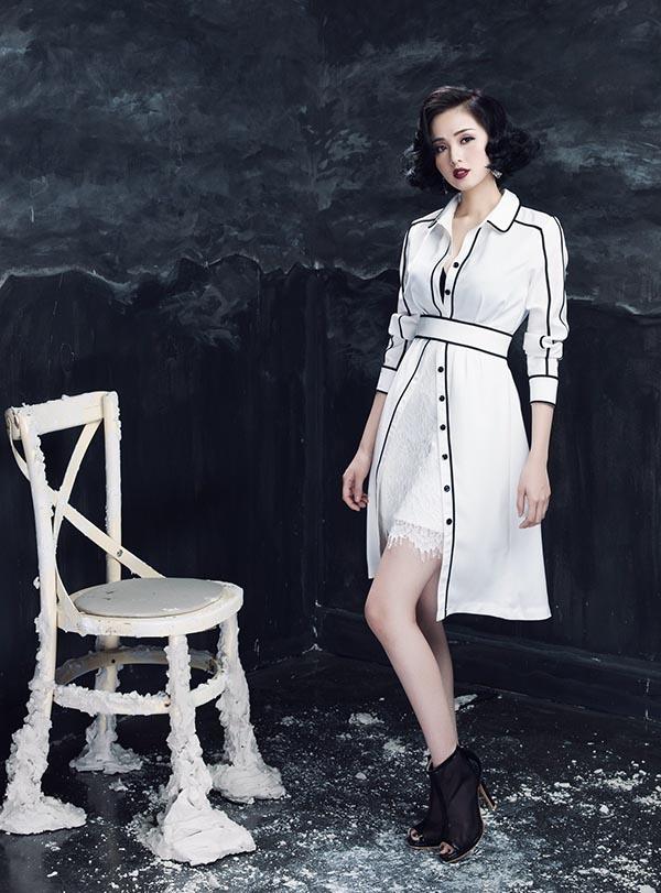 Sau thời gian tạm rời xa showbiz để sinh con, Tâm Tít vừa xuất hiện trở lại trong bộ ảnh thời trang đầy ấn tượng.