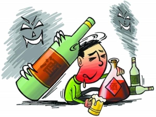 Đỏ mặt khi uống rượu là một dấu hiệu cảnh báo bệnh tật không thể coi thường. (Tranh minh họa).