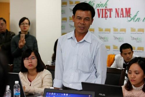 Cựu binh Gạc Ma Lê Văn Đông.