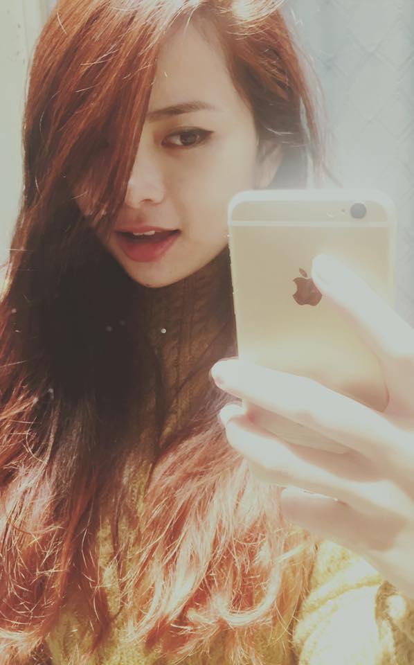 Cận nhan sắc xinh đẹp, trẻ trung của Thu Trang - em gái Đan Lê. Cô nàng sở hữu vẻ ngoài khá hiền lành, nữ tính.