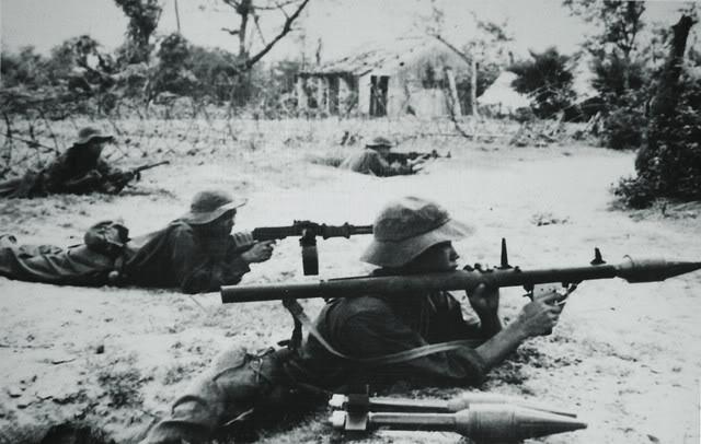 Bộ đội ta trong Chiến dịch Quảng Trị 1972.