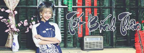 Dù diện áo dài truyền thống nhưng ở Quỳnh Anh Shyn vẫn toát lên sự trẻ trung và hiện đại