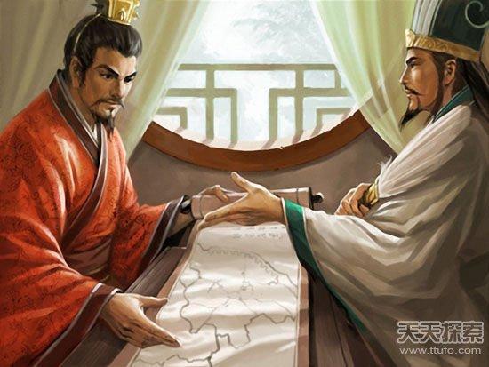 Mối quan hệ Lưu Bị và Gia Cát Lượng có thực sự khăng khít như người đời vẫn thường nghĩ? (Tranh minh họa).
