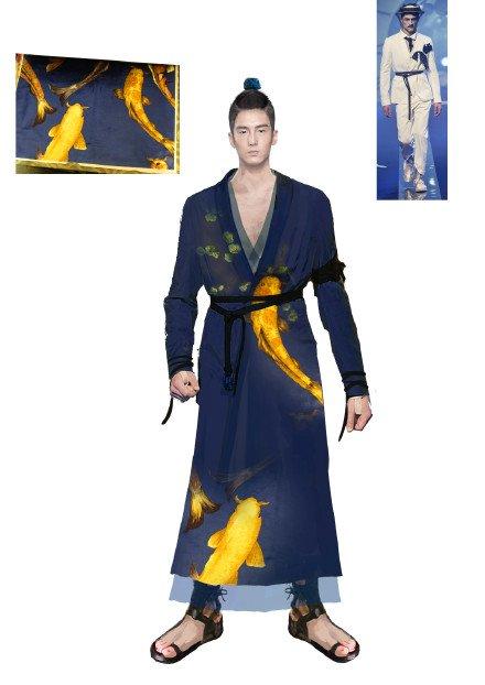Hoàng bào của Tề Thịnh cũng từ vải rèm cửa sổ có giá đắt hơn vải thông thường.
