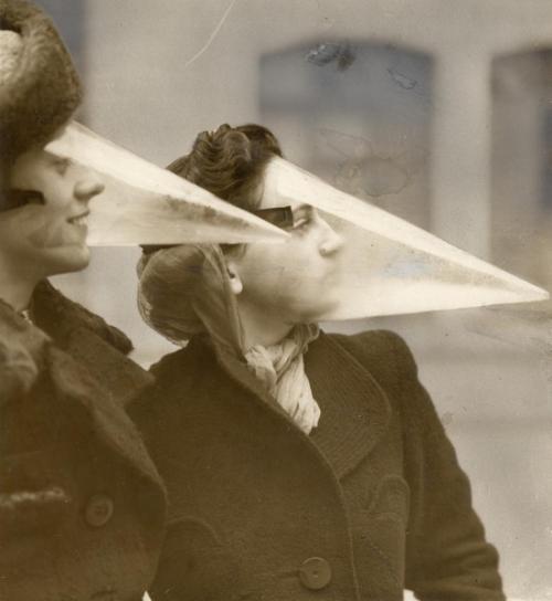 Mặt nạ chống bão tuyết năm 1939.