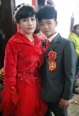 Cặp đôi đang khiến dư luận Trung Quốc xôn xao bàn ra tán vào.