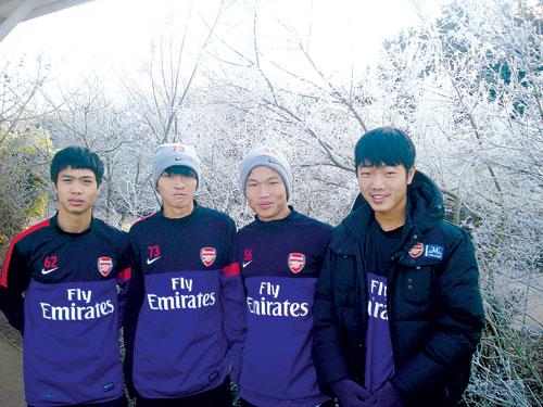 HAGL Arsenal JMG là nơi đang đào tạo ra các cầu thủ phù hợp với triết lý của Hữu Thắng.
