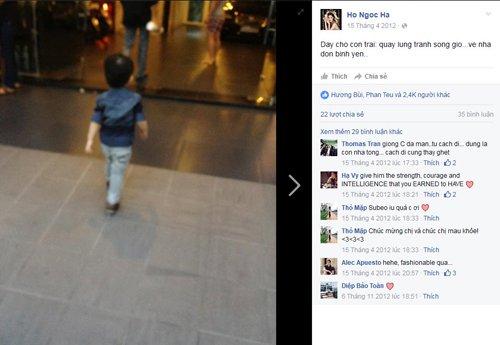 Chỉ một bức hình chụp phía sau khi Subeo bước đi cũng hút hơn 2.400 lượt like