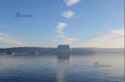 Ngoài ra, nhóm thử nghiệm cũng đã thu được những dữ liệu tốt về tiết diện phản xạ radar thân tàu và được đánh giá tốt.