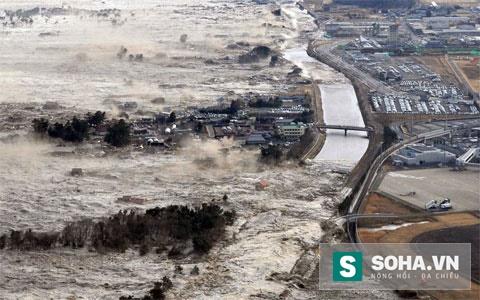 Hình ảnh hoang tàn sau thiên tai ngày 11 tháng 3 năm 2011 tại Nhật Bản. (Ảnh: nguồn internet).