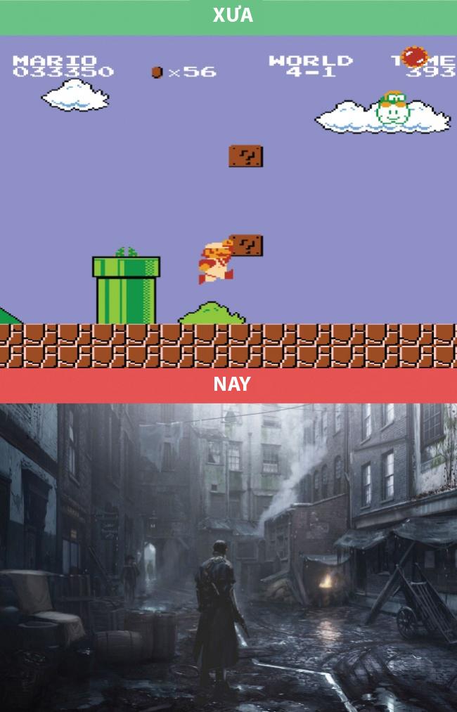 Những trò chơi điện tử thì chắc không cần bàn cãi nữa!